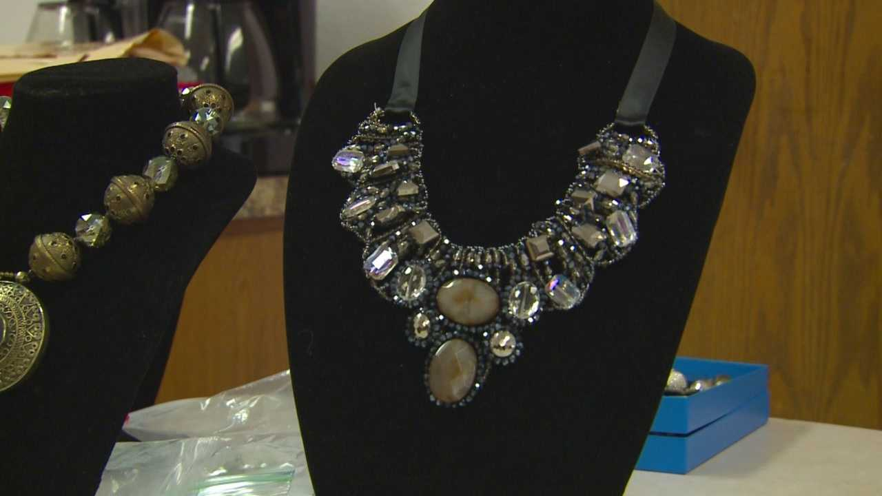 The event features live and silent auction items. The theme: jazz, jewels and jeans.