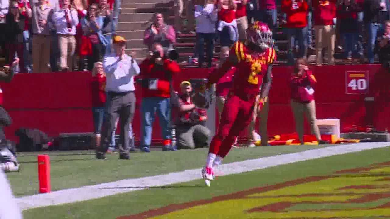 ISU smashed KU on Saturday 38-13.