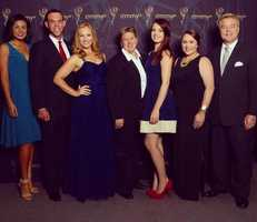 Shaina Humphries, Frank Scaglione, Alyx Sacks, director Amy Schmelzer, producer Shelby Brink, producer Michelle Schuelke and Todd Magel.