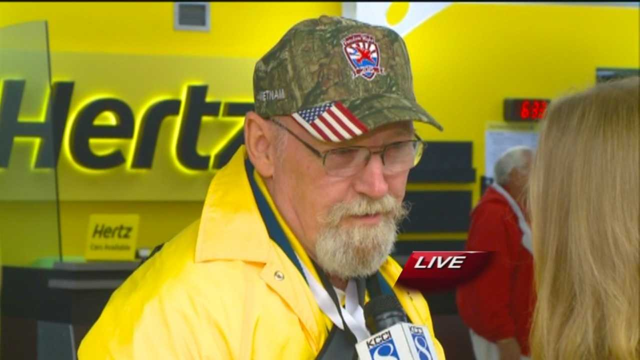 About 150 veterans are headed to Washington DC for a Freedom Flight.