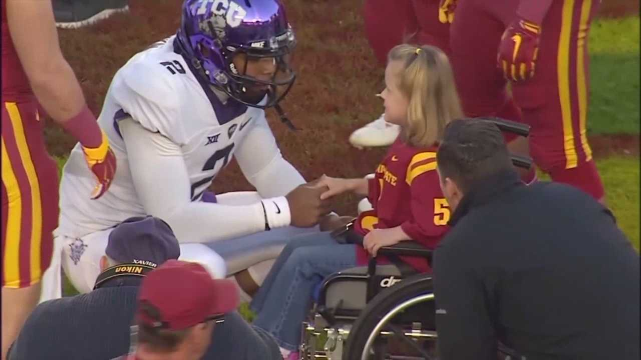 Blank Children's Hospital chooses a Kid Captain for each Iowa State football home game.