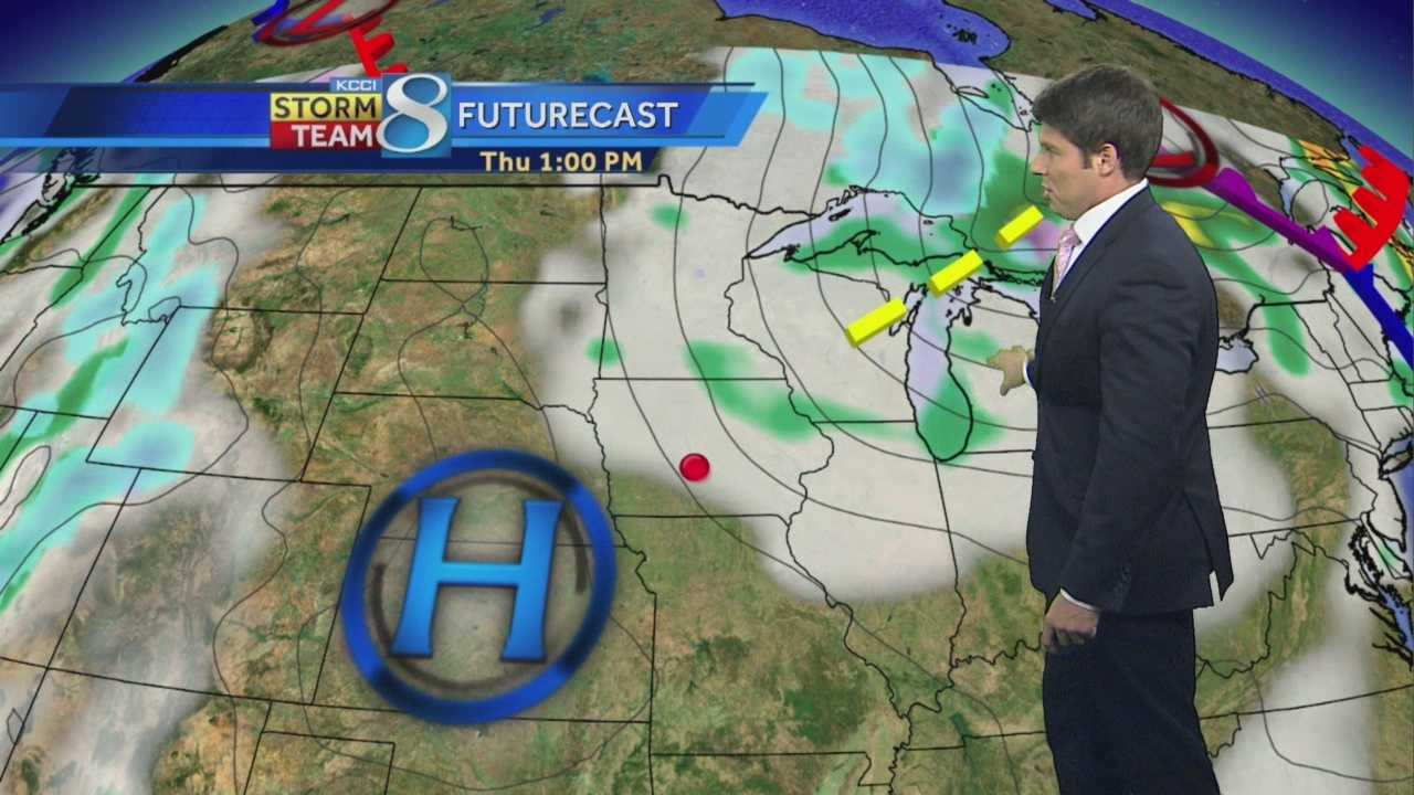 KCCI 8 Meteorologist Jason Sydejko's forecast for Iowa.