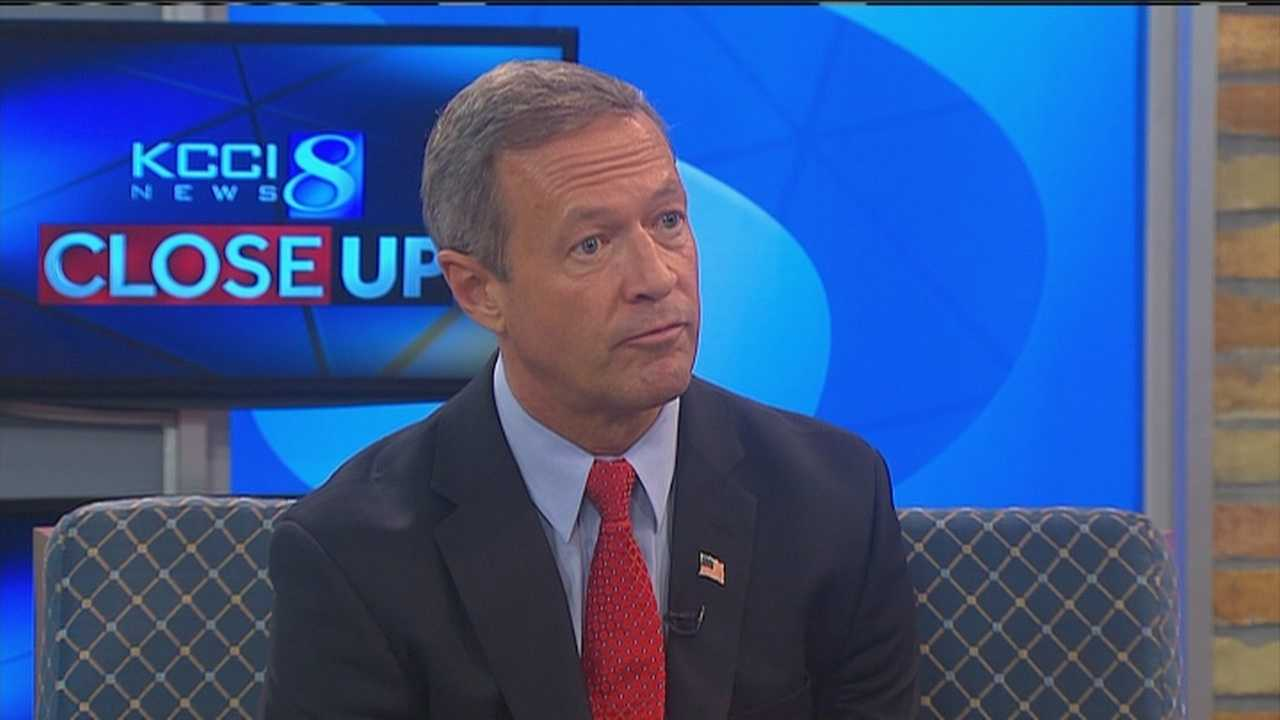 Gov. Martin O'Malley talks about his views on the death penalty.