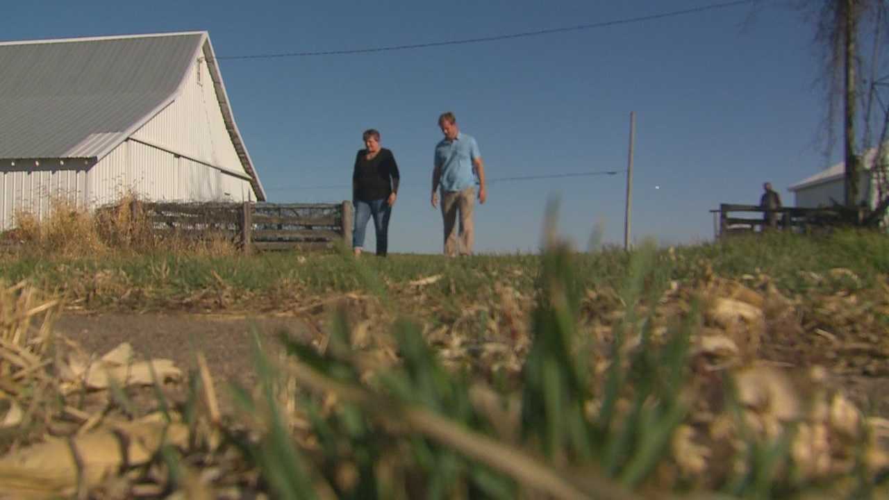 The governor maneuvered around the topic and said he won't take a stance on the use of eminent domain.