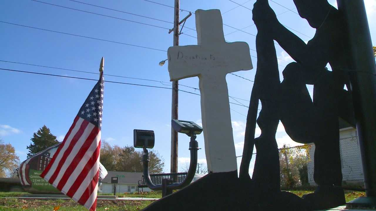 A display at the center of controversy in Knoxville will be moved.