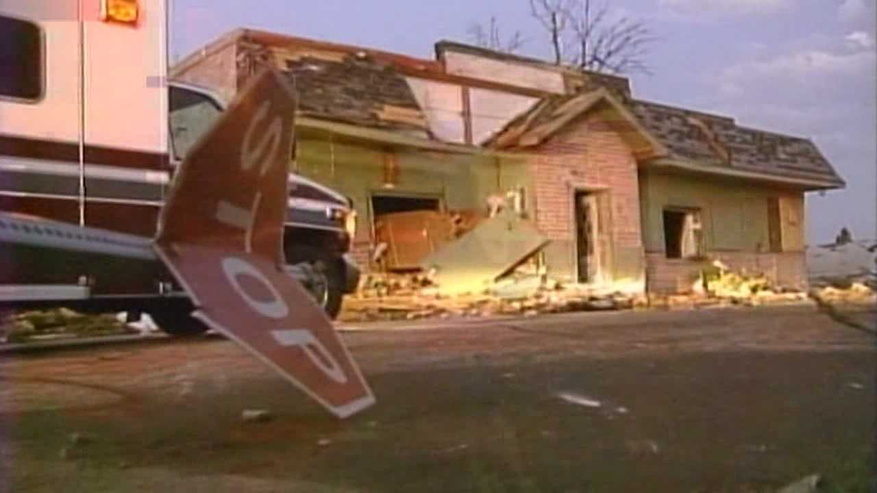 It's been 10 years since 12 tornadoes tore through Dallas and Boone counties, killing one person and causing $18 million in damage.