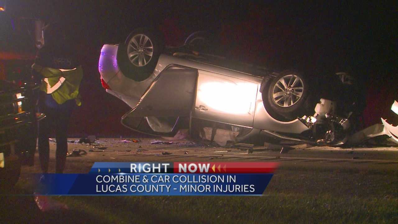 Authorities are investigating a crash that happened around 6 p.m. Thursday night.