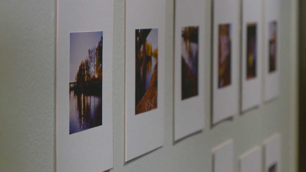 A new exhibit at Drake University features a documentation of the lives of homeless people.