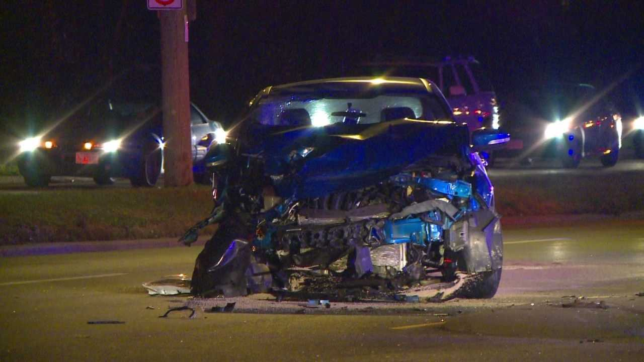 Two people have died and one person is seriously injured following a two-car crash on Hubbell Avenue.