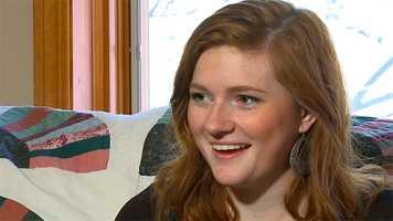 The Septuplet's older sister Mikayla McCaughey
