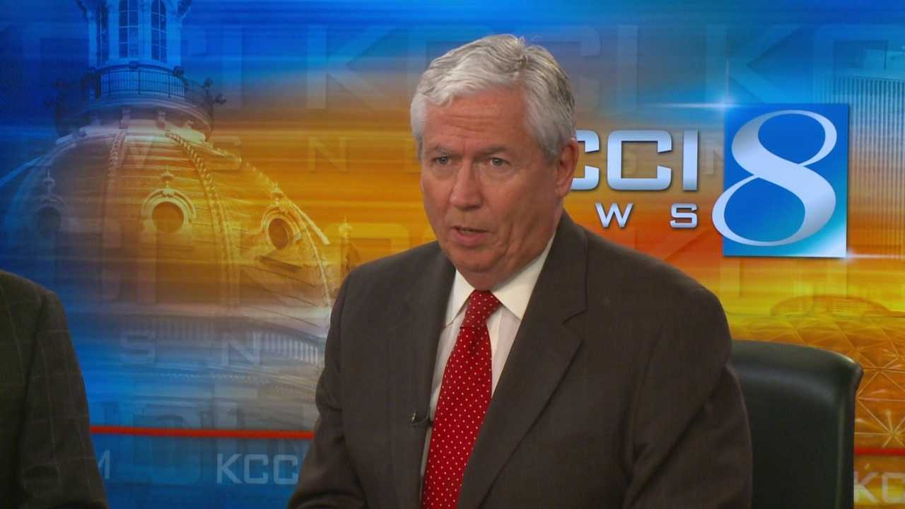 In the 60 years that KCCI has been on the air, it has had just three main male anchors: Russ Van Dyke, Paul Rhodes and Kevin Cooney.