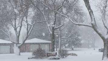 Snow in Belmond