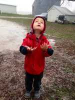 Catching snowflakes in Calhoun County