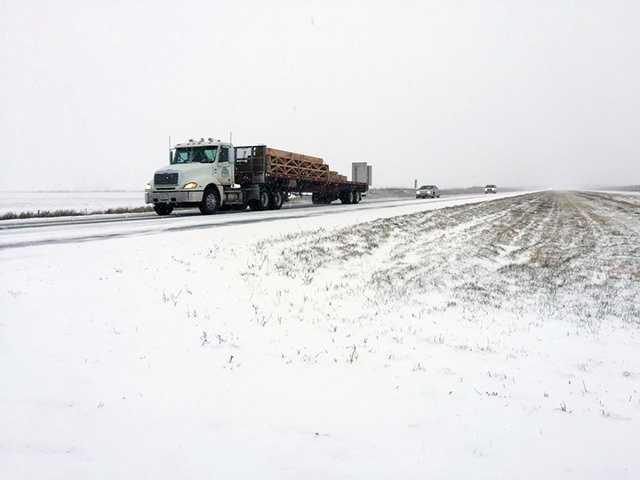 3:40 p.m. near Blairsburg off of Highway 20