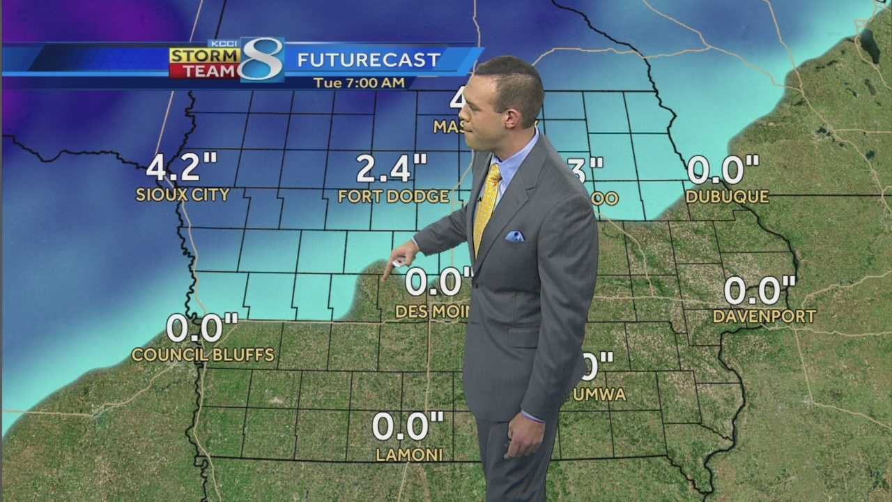 Videocast: Icy mix in the forecast