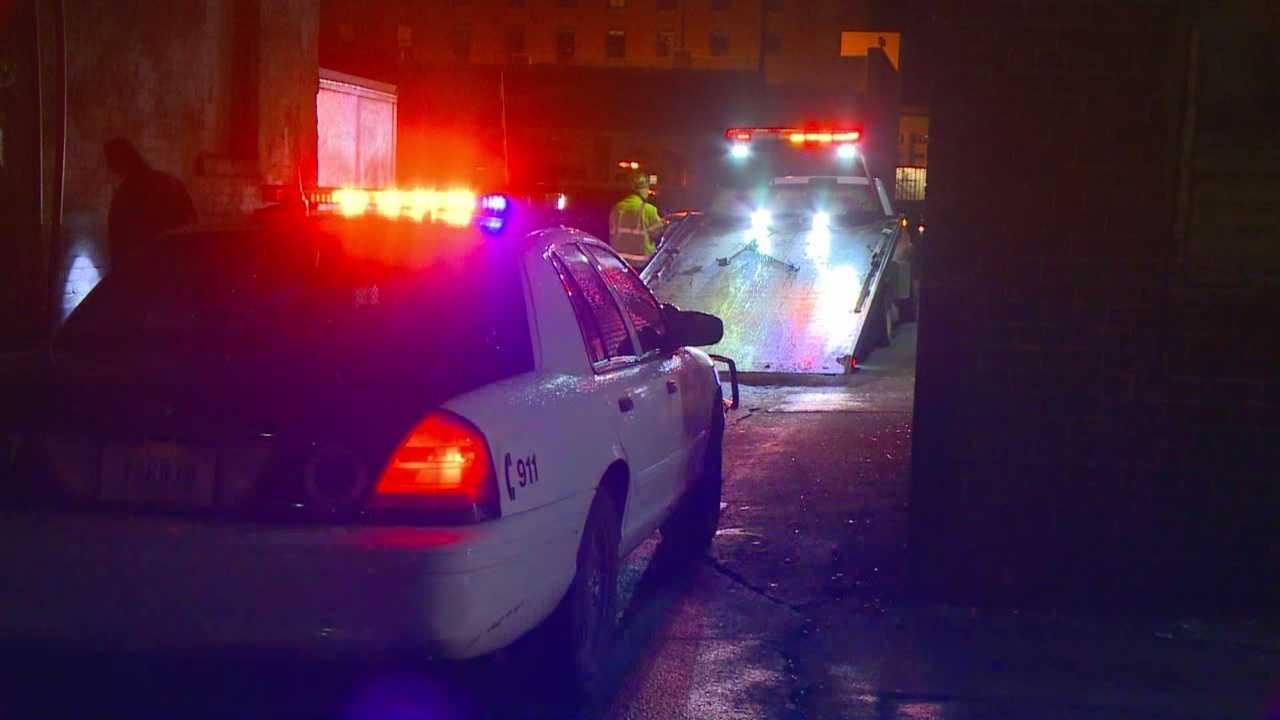 Two men were shot near Third Street and Court Avenue around 1 a.m. Sunday.