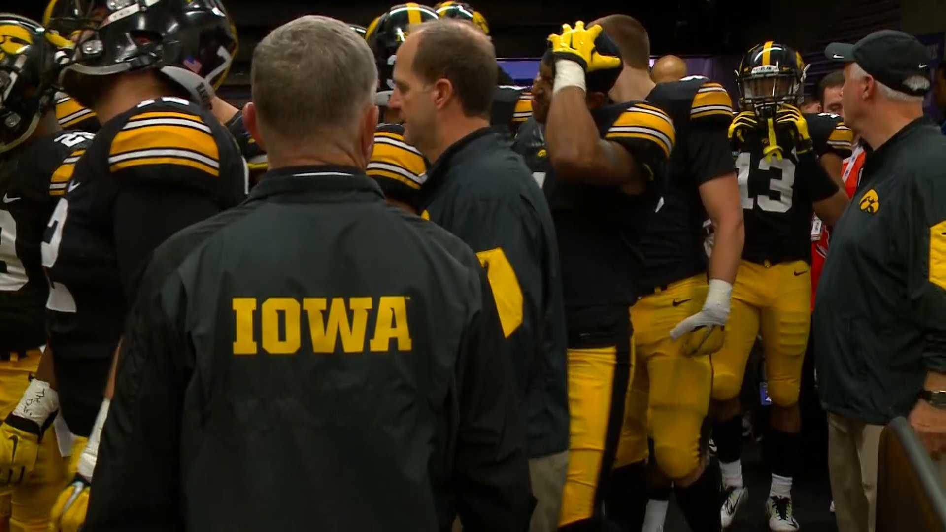 The Hawkeyes lost a heartbreaker, but have high hopes for their bowl game.