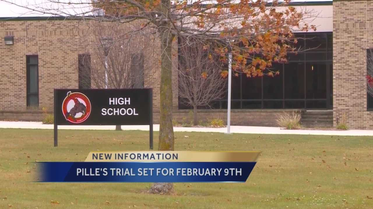 The first trial related to allegations of hazing at a northern Iowa high school has been scheduled for February.