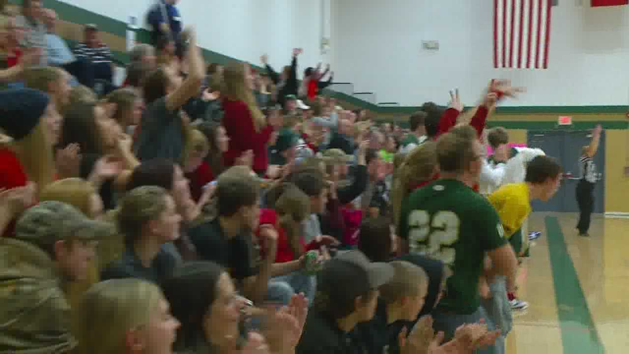 A special tribute was given to a former varsity member of the Woodward-Granger boy's basketball team Tuesday night.