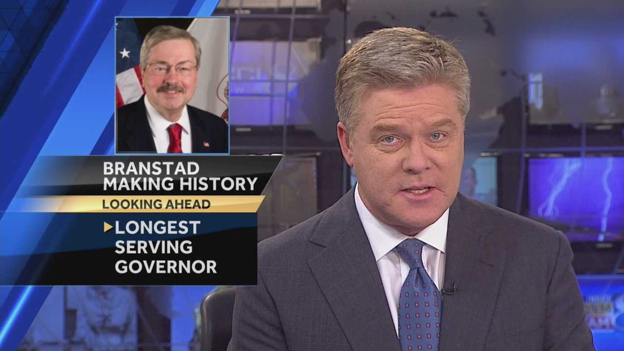 Terry Branstad is about to enter the political record books as the longest serving governor in American history.