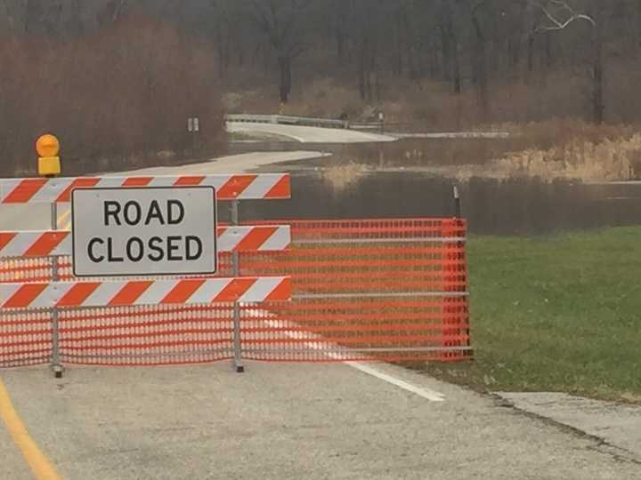 Flooding at Ledge State Park