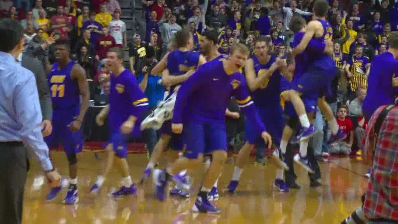 UNI's upset win highlighted a wild night at the Well.