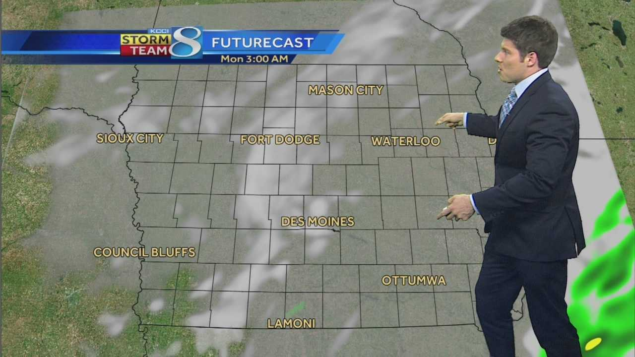Videocast: Winds from the south bringing warmer air