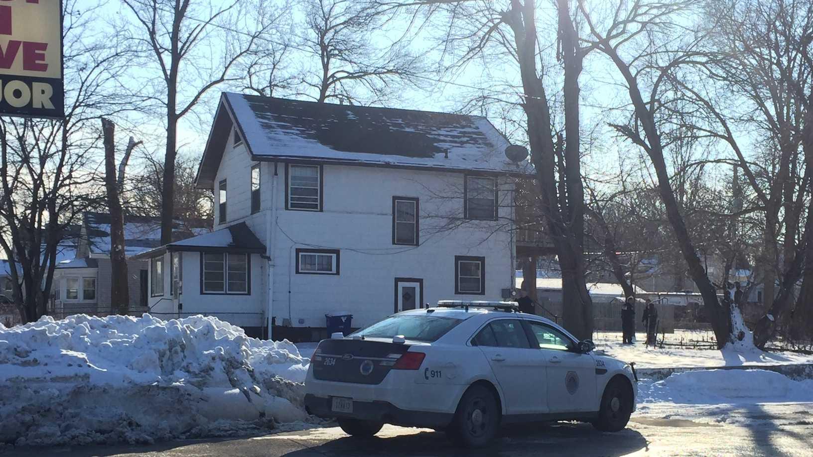 Shooting victim found in neighborhood Thursday.