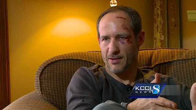 Pastor Cory Stout was hit by a car while trying to help a stranded driver.