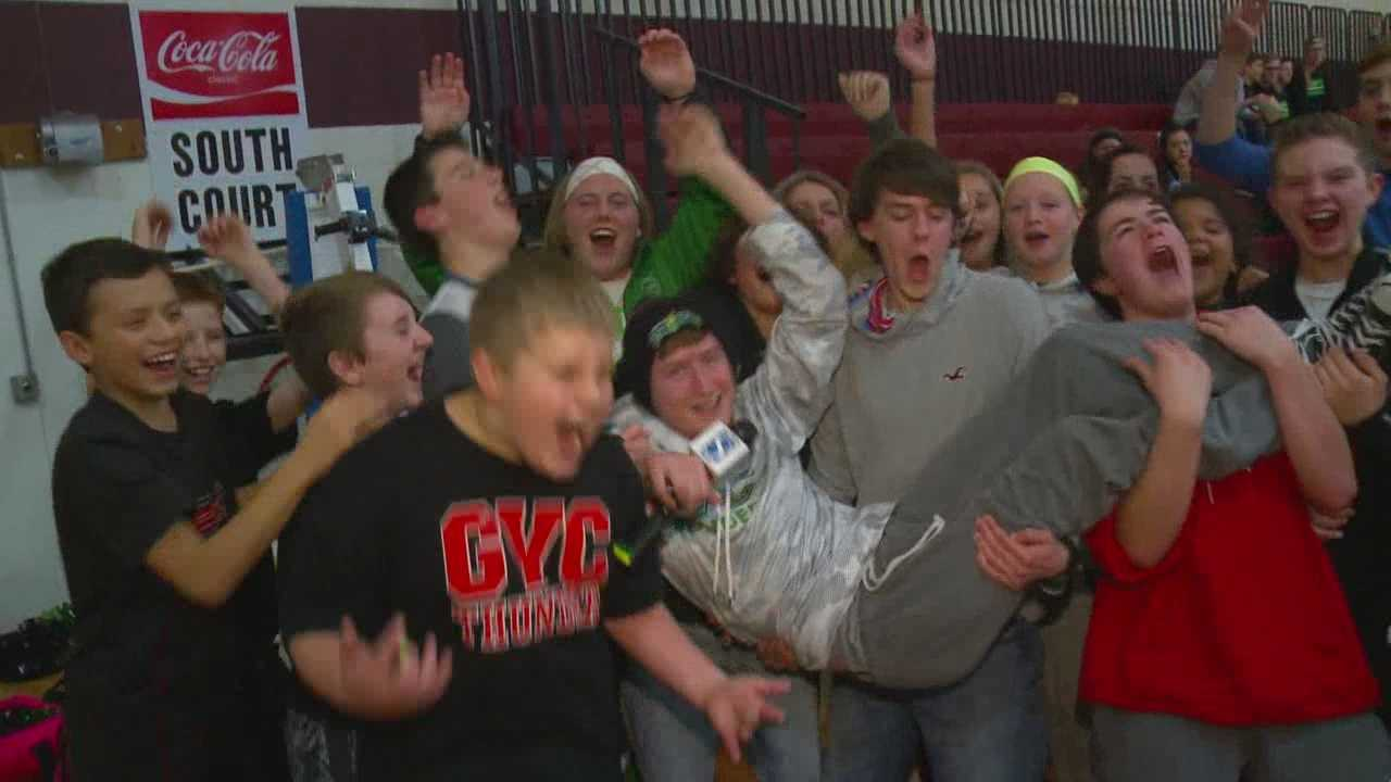 Things got crazy as we tiped off a new season of high school hoops.