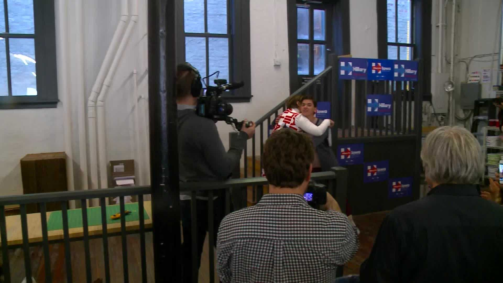 Some Iowa voters said Clinton's celebrity draw could help gain support from youth.