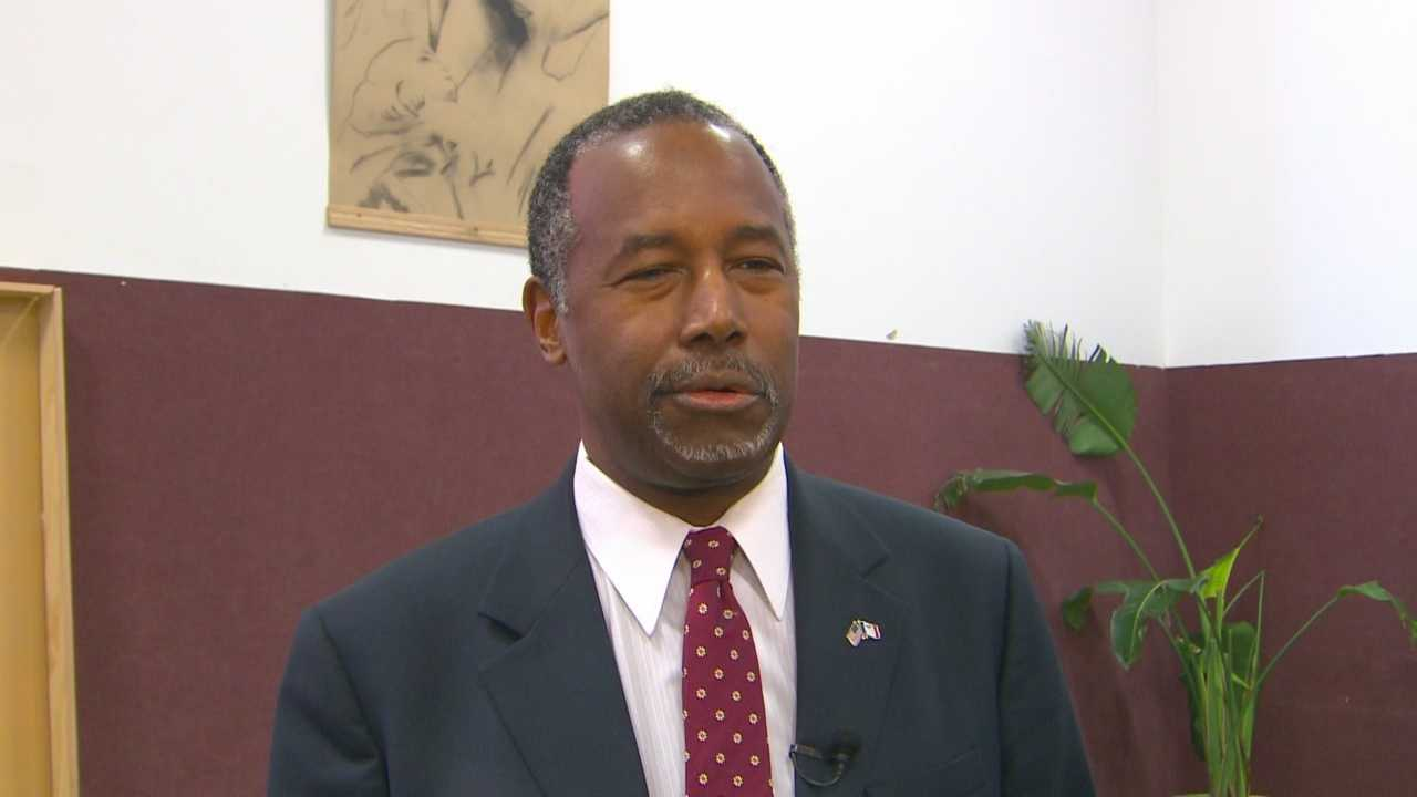 At Corinthian Baptist Church, Carson showed faith Christian voters can save his campaign.