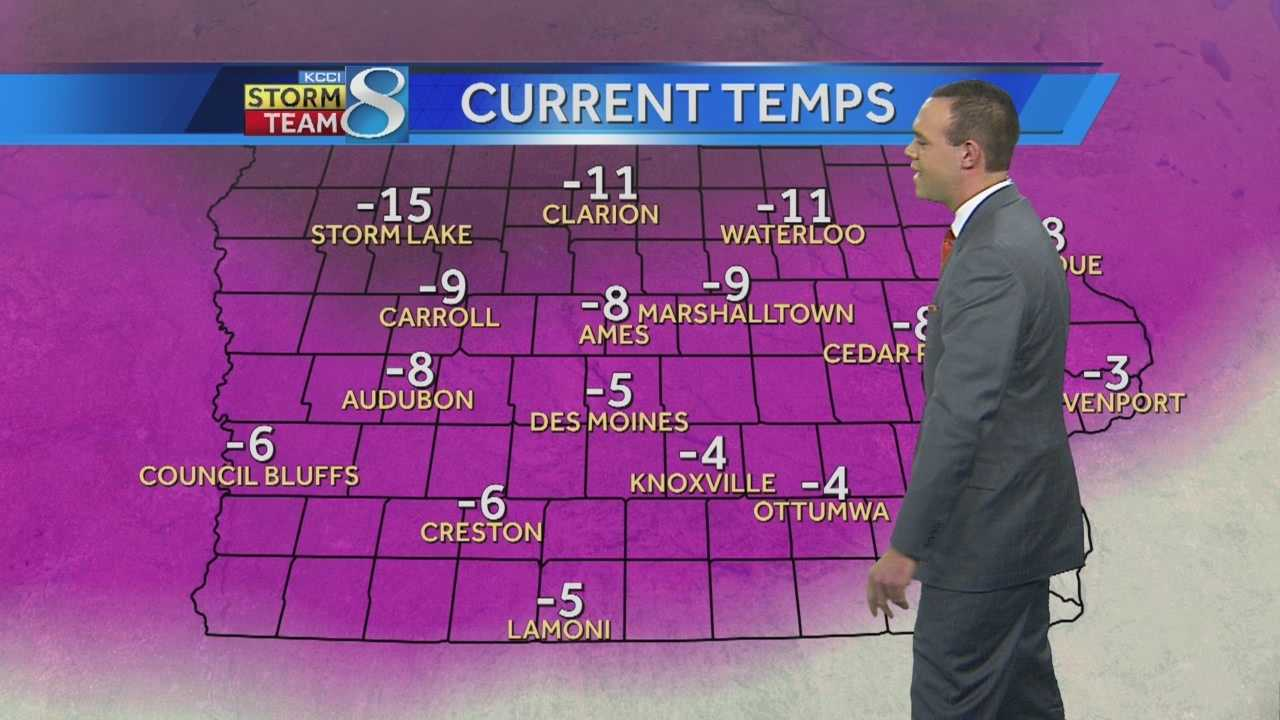 Videocast: Meteorologist Frank Scaglione's weather forecast for central Iowa