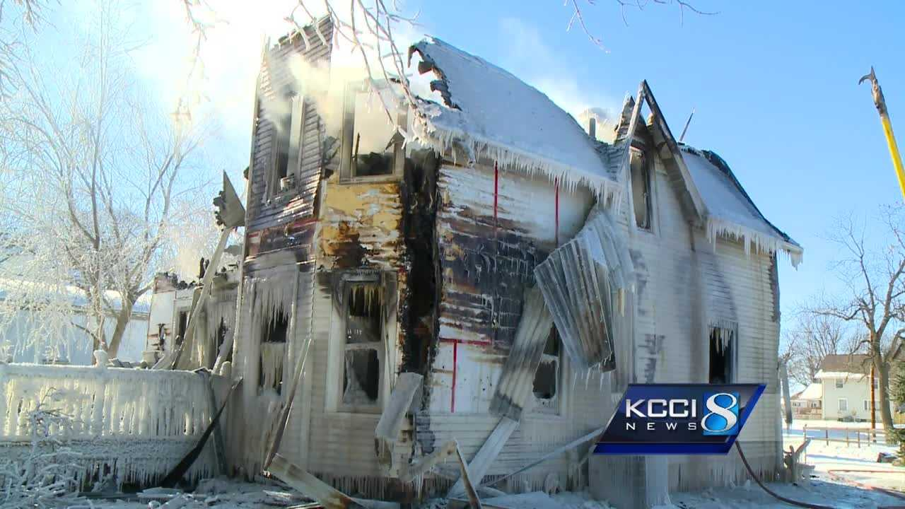 A mother and her three young children were killed in a fire early Sunday morning at a house in Boxholm, officials said.