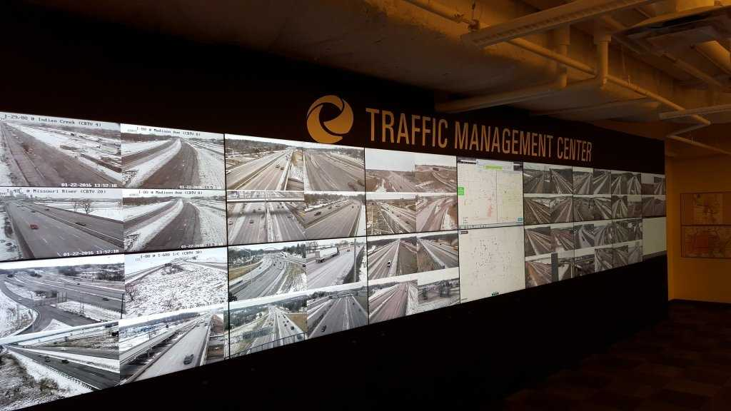Iowa DOT Traffic Center