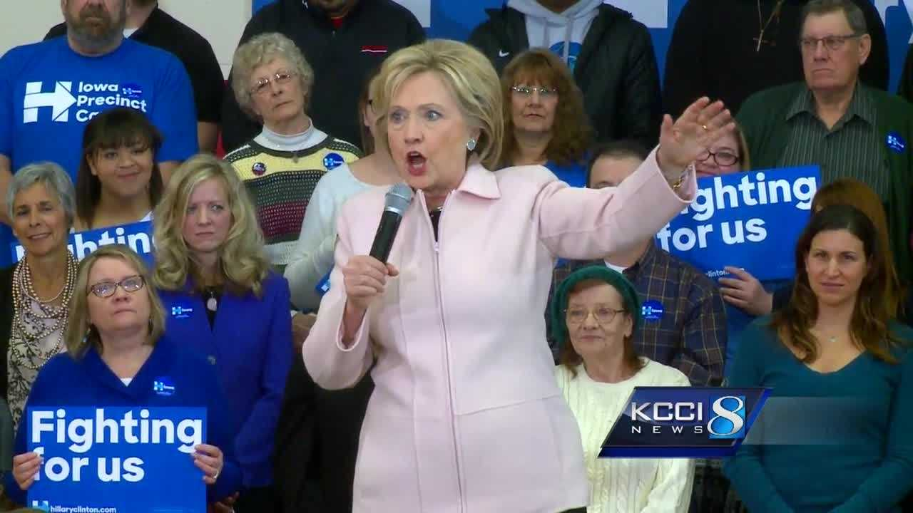 Recent polls show with three days to go, 39 percent of caucus voters said they are still undecided.