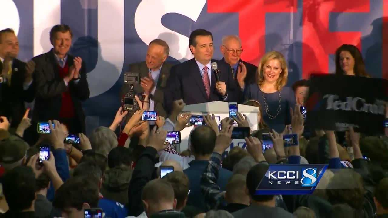 Donald Trump is attacking Iowa Caucuses winner Ted Cruz on Wednesday, saying he didn't win fair and square.
