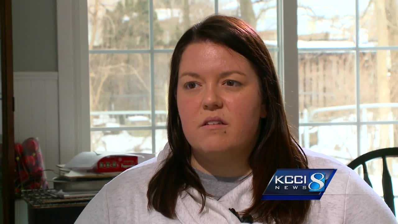 A Des Moines man was driving to work with his co-worker when everything changed in a moment.
