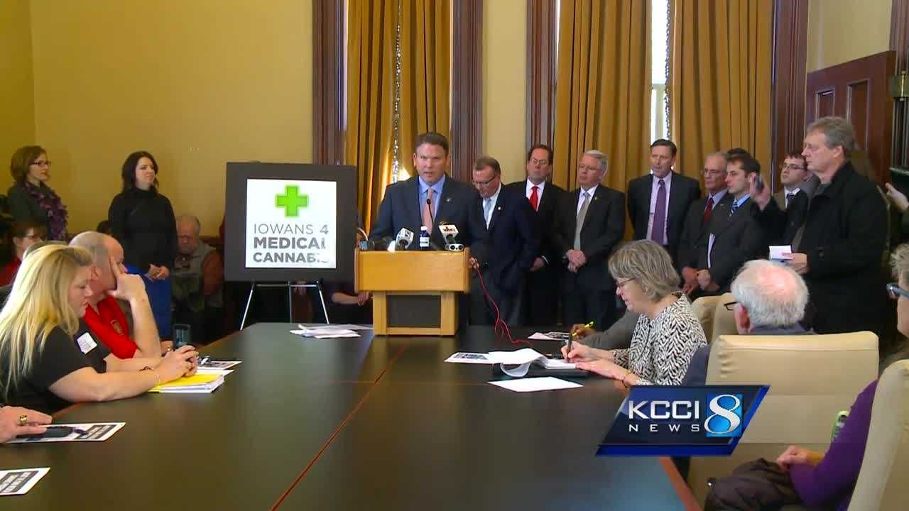 Supporters on both sides for new Iowa medical marijuana bill
