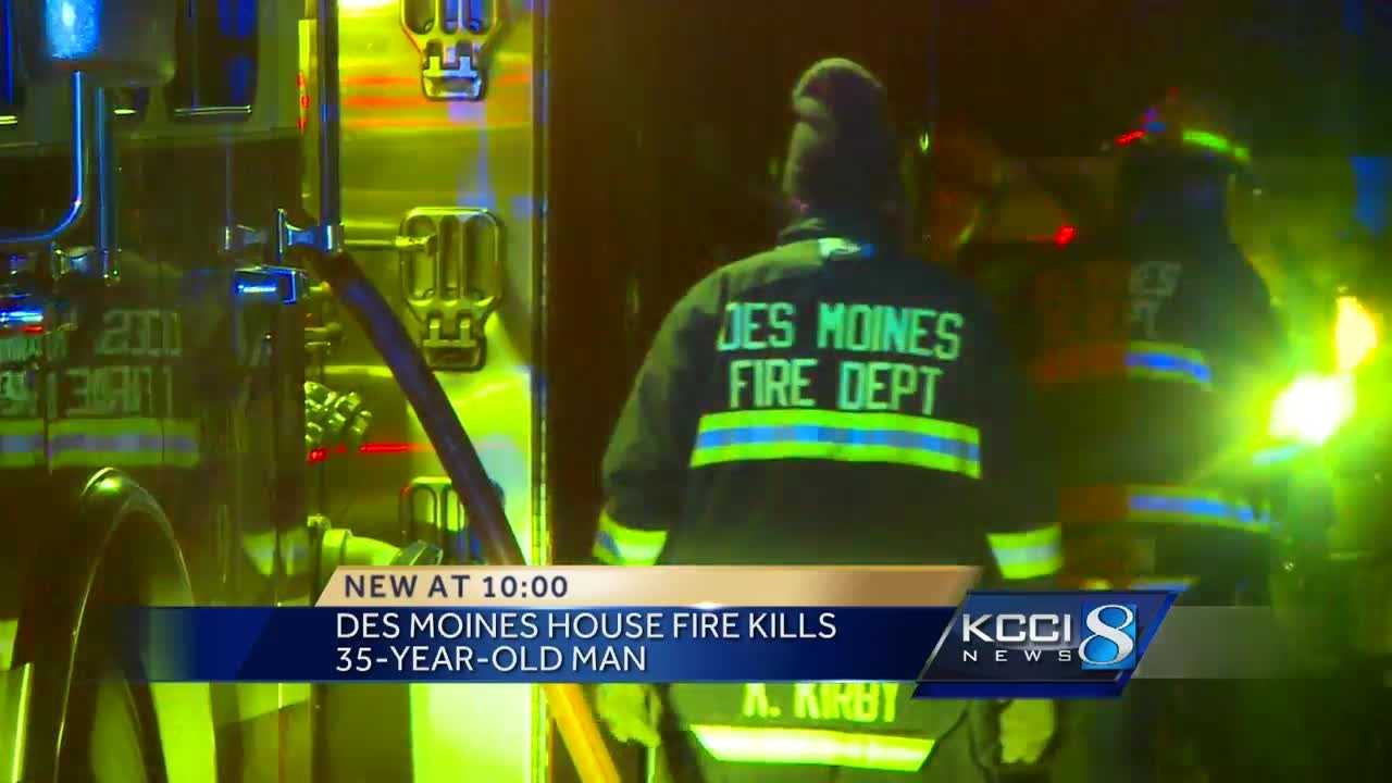 Firefighters responded reports of a fire on the 27th block of 61st Street in Des Moines.