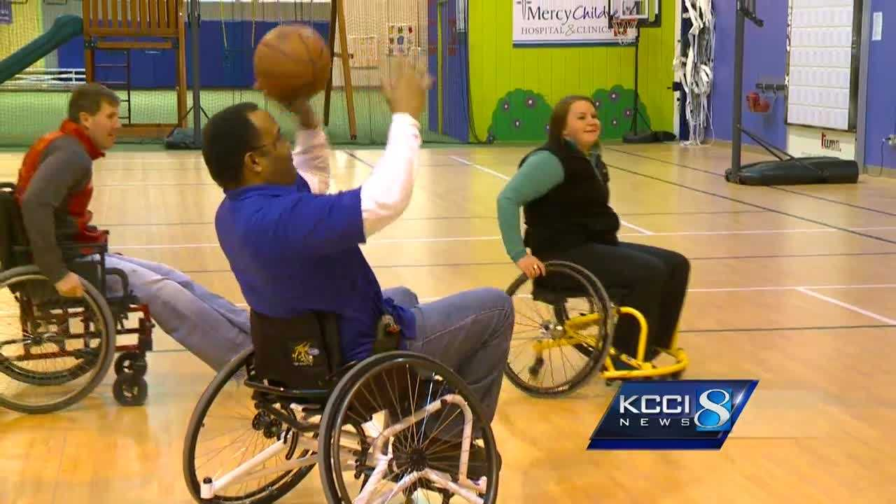 The focus will be on wheelchair basketball Saturday, February 27.