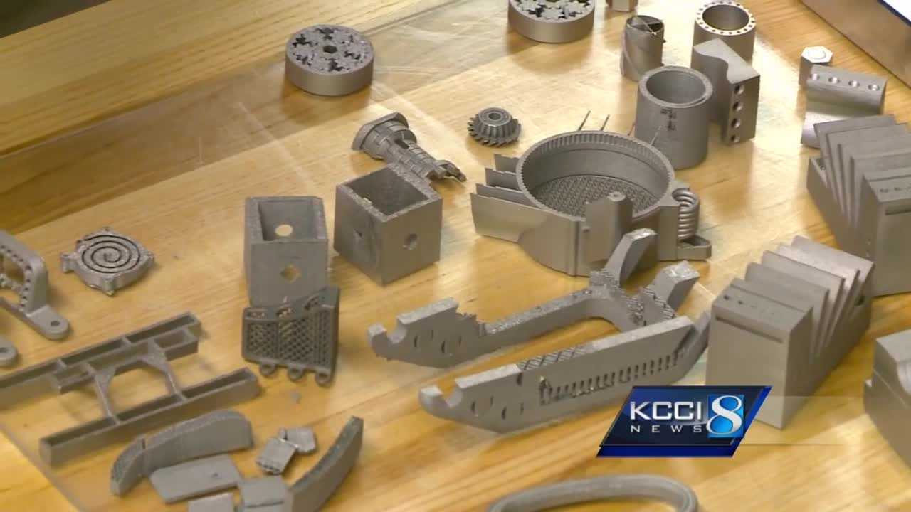 Researchers are testing out a metal 3D printer that could change the entire manufacturing industry.