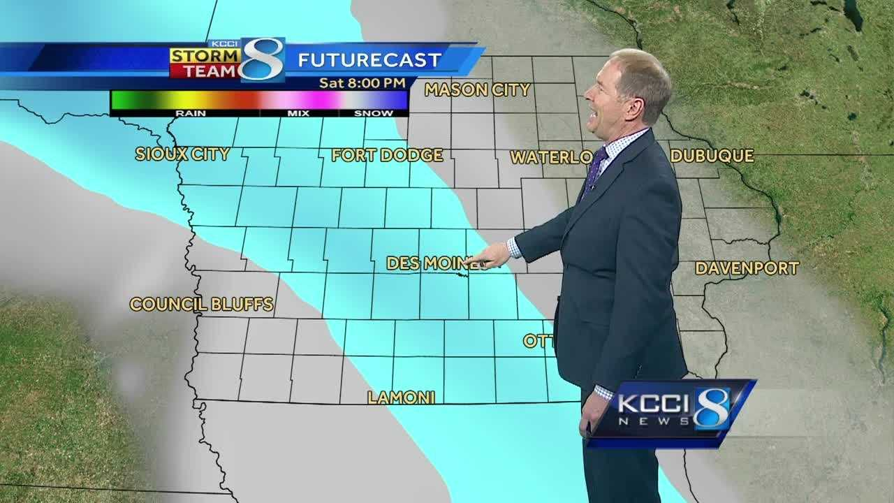 KCCI meteorologist Kurtis Gertz's forecast for central Iowa.