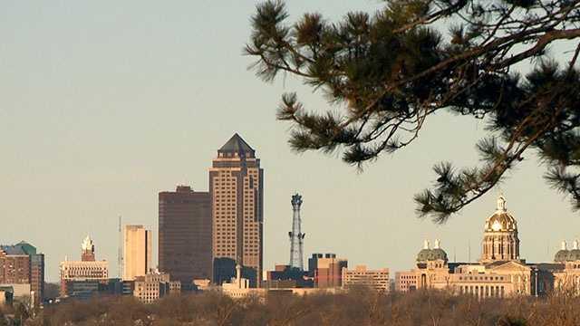 Des Moines Skyline 2