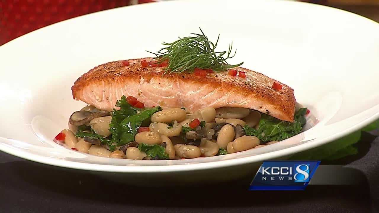 Chef Andrew cooks up a heart healthy salmon dish in this week's addition of Get Cooking.