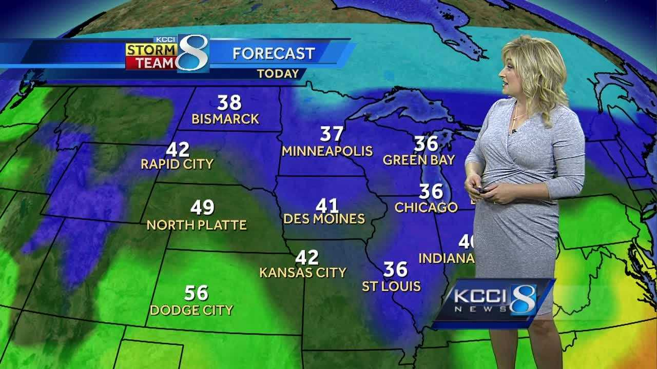 Iowa weather forecast