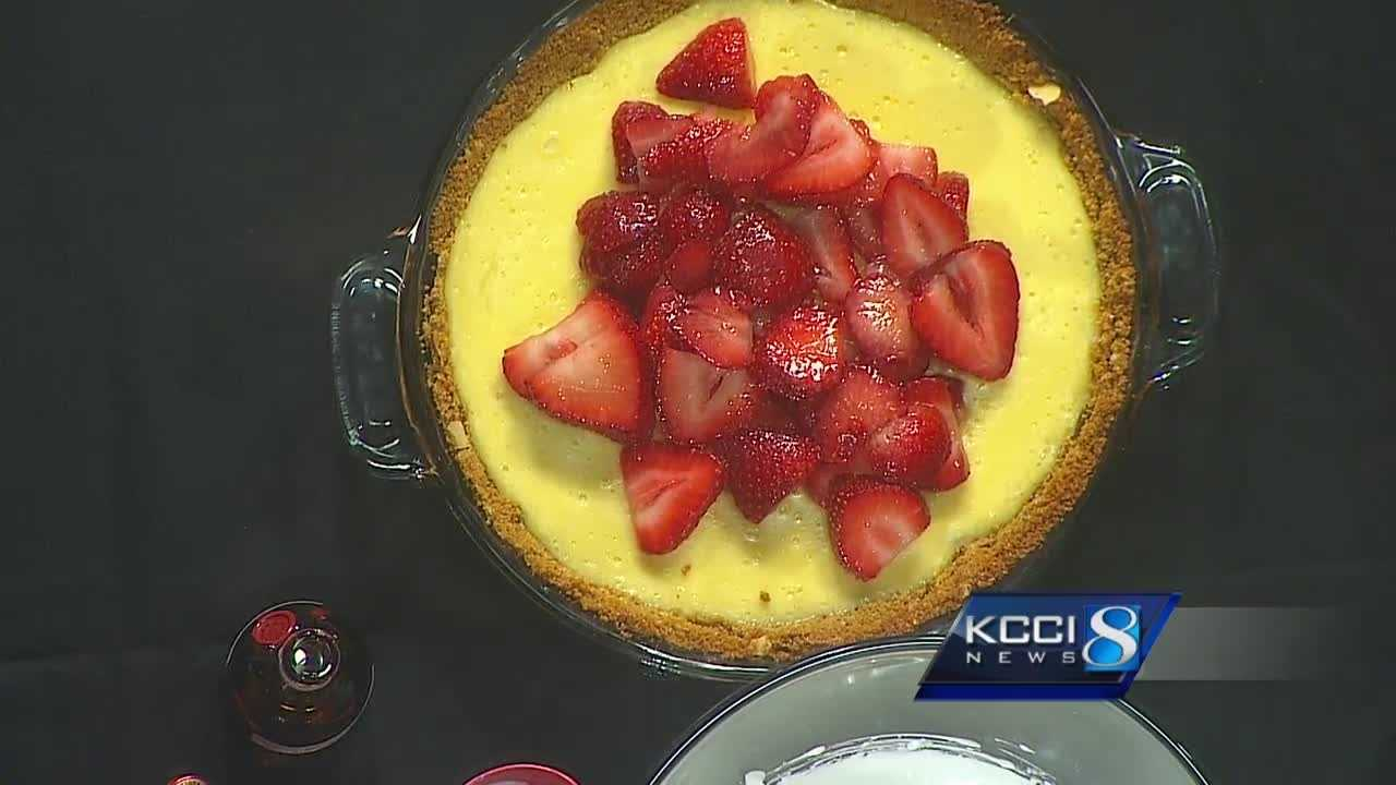 Chef Andrew cooks up a refreshing pie for National Strawberry Day.