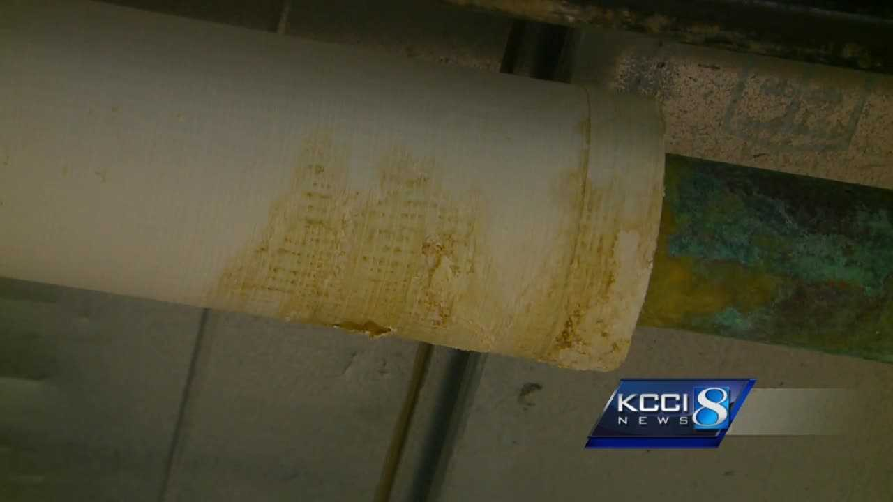 The Department of Cultural Affairs said a leaky roof is one of many issues.