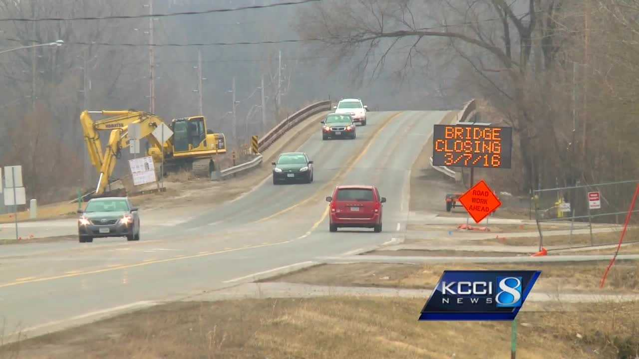 The Iowa Department of Transportation will spend about nine months and $7.5 million to merge two bridges into one.