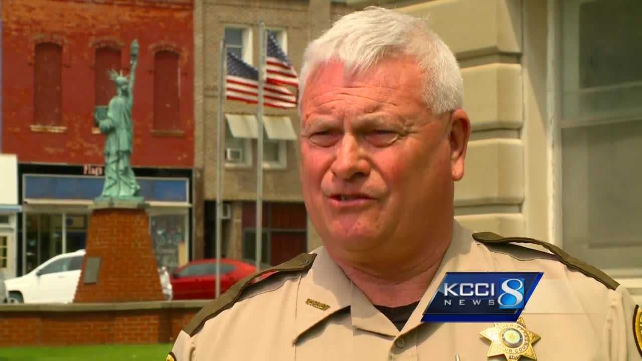 A southern Iowa sheriff resigned Friday after allegations of sexual harassment.